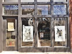Window Installation at Wild Prairie, Chi