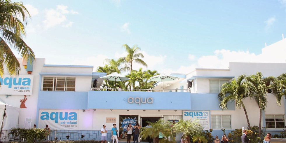 Aqua Art Fair Miami 2018