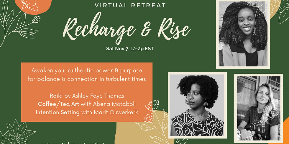 Restorative Self-Care, Art Making and Reiki Healing - A Mini Retreat