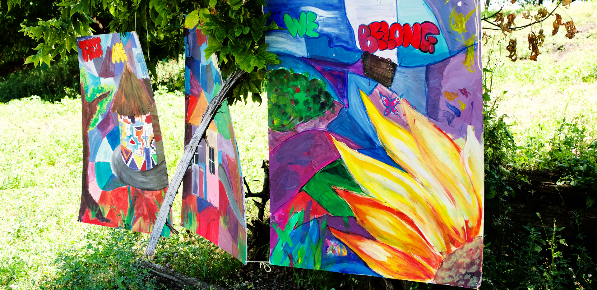 End of summer mural