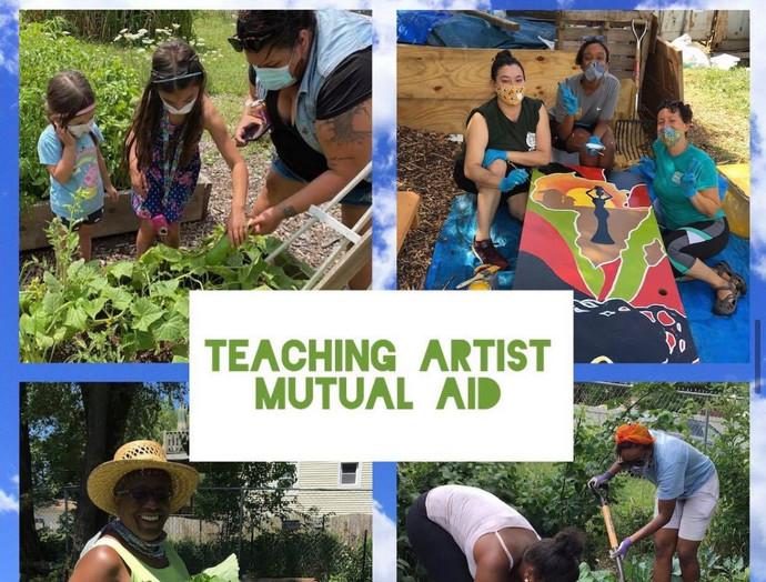 Teaching Artist Mutual aid work