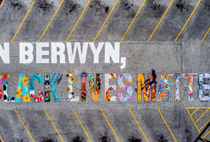 BLM Mural, Berwyn