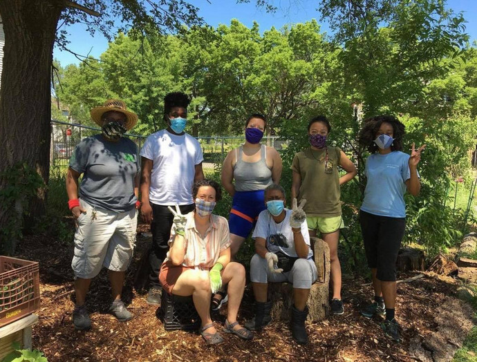 mutual aid work with young cultural stewards
