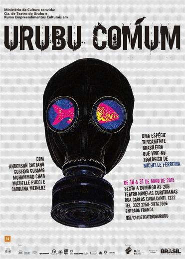 urubu comum 2015 cartaz programa 50 x 70