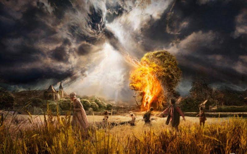 God's wrath - Tony Mariot