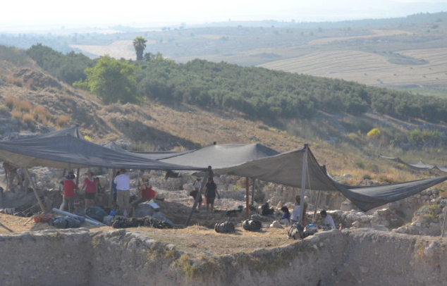 Staging at Elah Valley