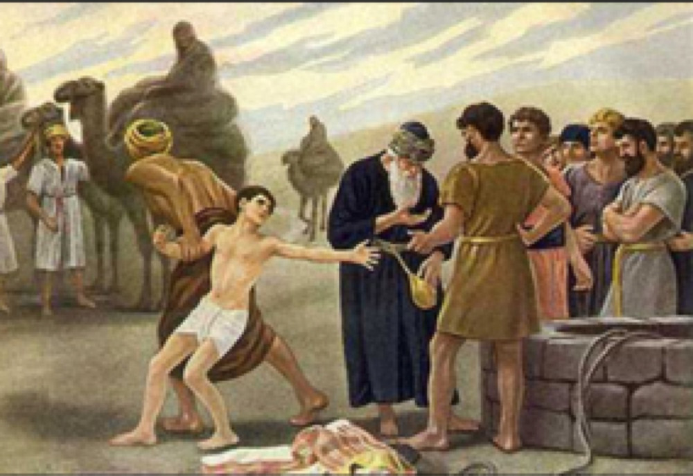 Joseph sold into slavery by his brothers - Tony Mariot