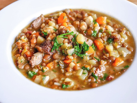 Social conditioning in a Tuscan chickpea soup