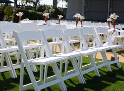 White Wood Chairs