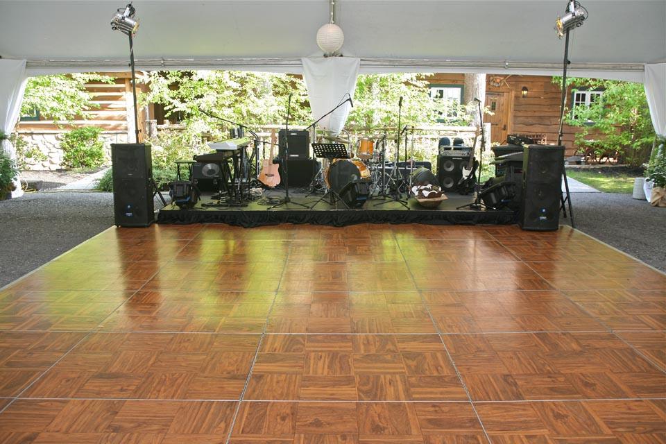20'x20' Dance Floor