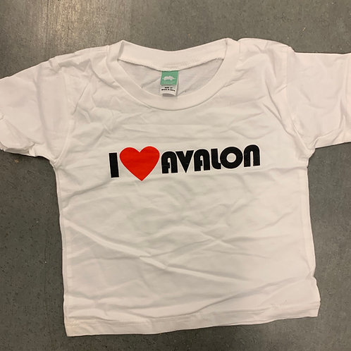 "KID'S SHIRT ""I Love Avalon"""