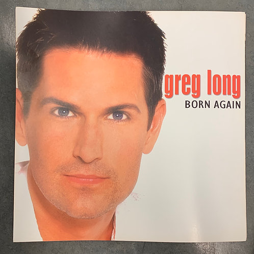 Greg Long Born Again 12x12 double sided poster