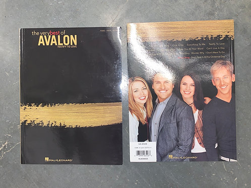 Songbook: The Very Best of Avalon