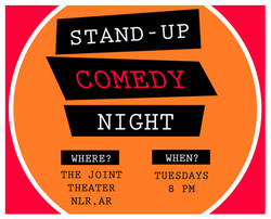 Stand-up Comedy every TUESDAY!