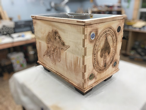 Shadow Box Crate Table