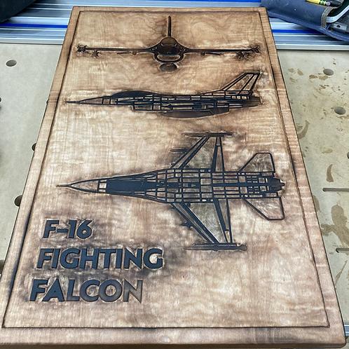 Aircraft wall art