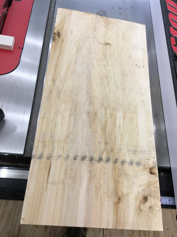 DIY wooden American Flag.