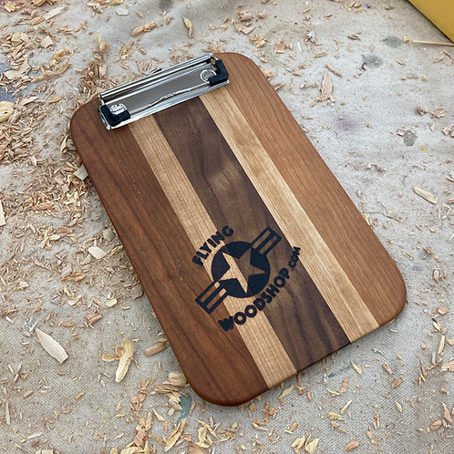 Hardwood Clipboards