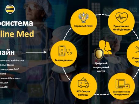 «Медлайнсофт» и «Билайн»: цифровой защищенный контур для здравоохранения