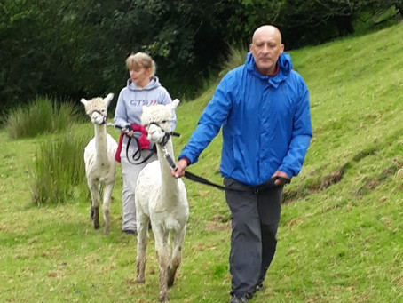 Al and Kath Go Trekking