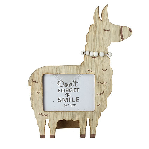 Alpaca Standing Photo Frame