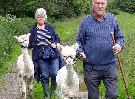 Pam and John and a Couple of 'Pacas