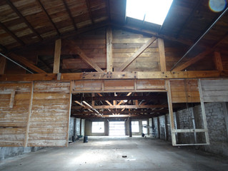 Building gutted, just waiting on approvals!