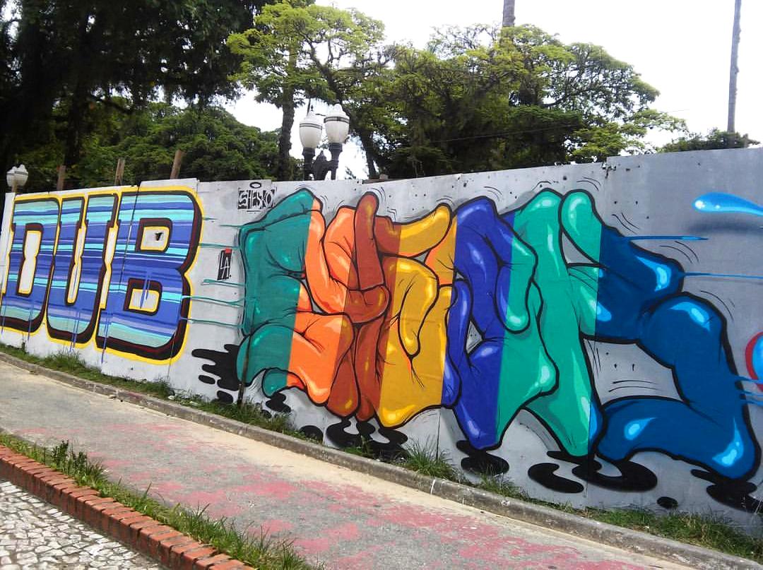 Shesko-graffiti