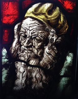 Contemplative Old Man