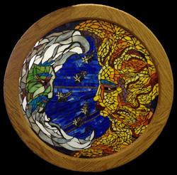 Moon and Sun Mosaic