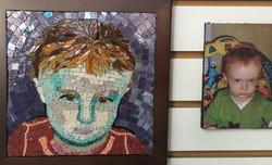 emma mosaic portrait