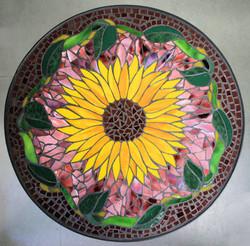 Sunflower Mosaic Lazy Susan
