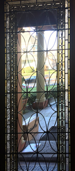 Beverly sidelight with jewels repair