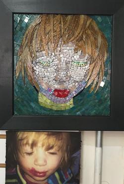 hannah mosaic portrait