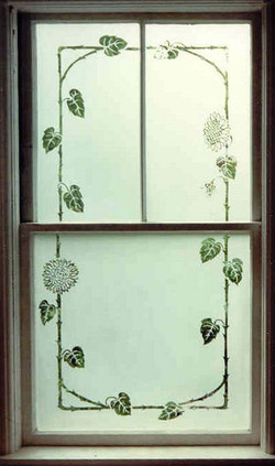 Double Hung Etched