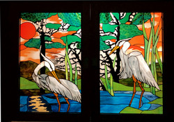 Heron pocket doors