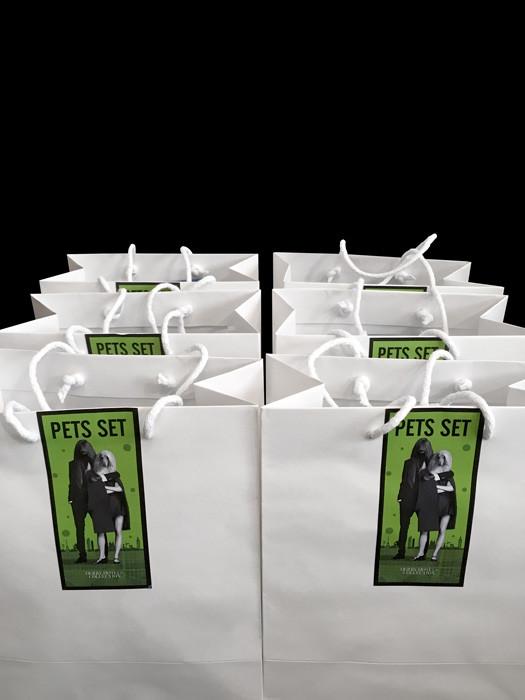 Pets set es un surtido de productos para mascotas asequibles en los hoteles.