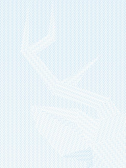 Detalle ilustración, imitación al punto de lana.