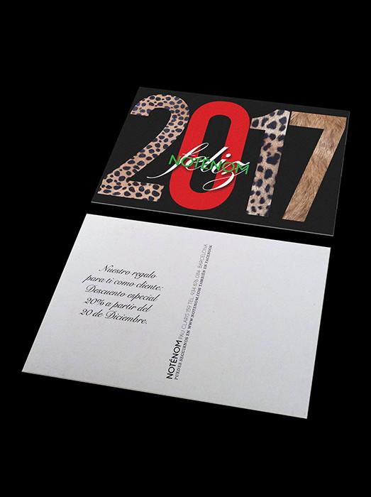 Diseño postal.