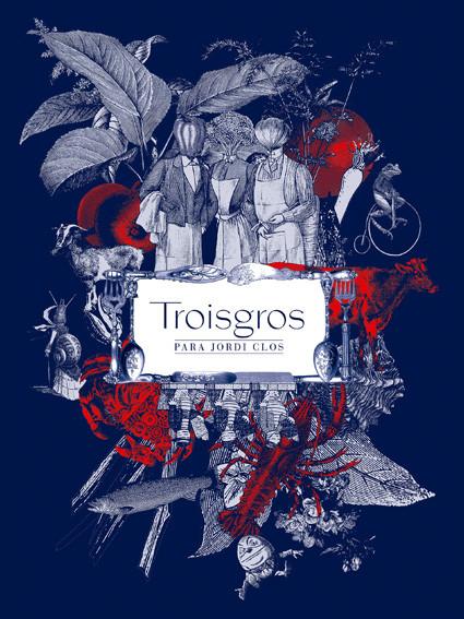 Ilustración basada en el mundo de Troisgrois.