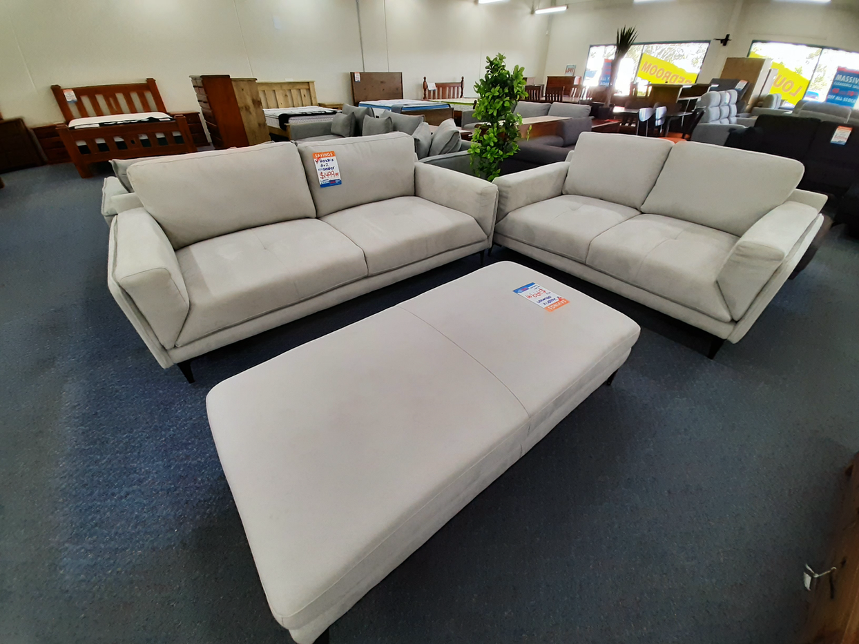 Hendrix 2 and 3 Seater Lounge