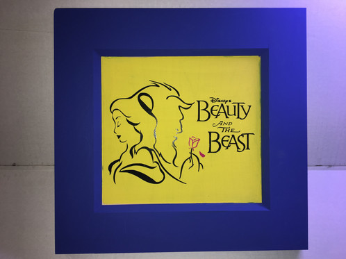 Beauty & Beast Wood Wall Decor | Art Wall Decor | United States ...