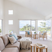 Upstairs lounge with views of Werri Beach