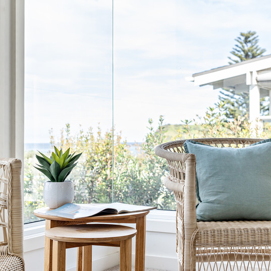 Sit by the window and enjoy views of Werri Beach from our upstairs lounge