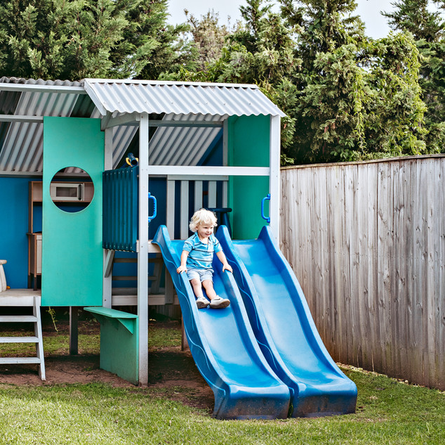 Our little guests will love the cubby house