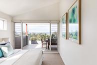 Master bedroom with Werri views