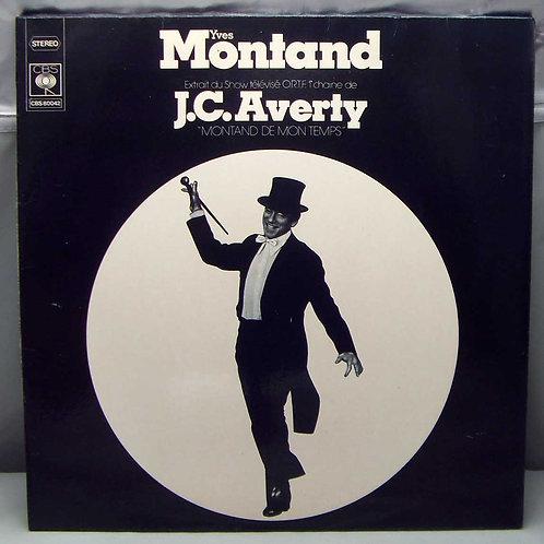 LP Yves Montand - Montand De Mon Temps 1974 France