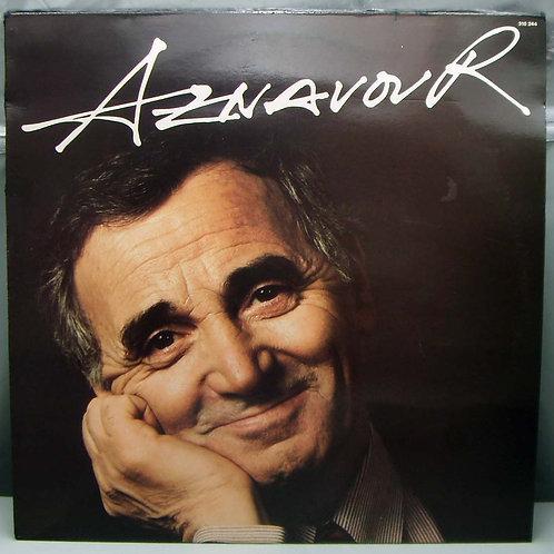 LP Charles Aznavour – Aznavour 1987 France