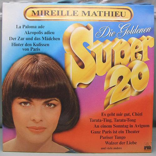 LP Mireille Mathieu – Die Goldenen Super 20 1977