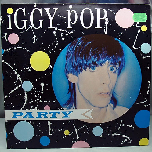 LP Iggy Pop – Party 1981 Germany